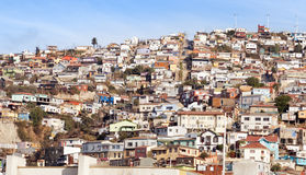 View over Valparaiso Stock Photography