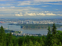 View over Vancouver Stock Images