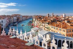Free View Over Venice On Grand Canal Stock Photo - 171409690
