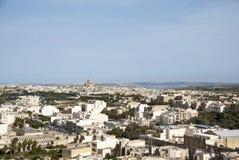View over Victoria, Gozo island, Malta Stock Images