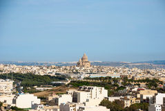 View over Victoria, Gozo island, Malta Royalty Free Stock Image