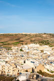 View over Victoria, Gozo island, Malta Royalty Free Stock Images