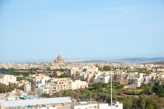 View over Victoria, Gozo island, Malta Stock Photos