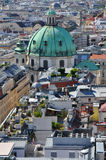 View over vienna, austria Stock Photo