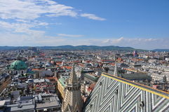 View over vienna, austria Stock Image