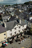 View over the village Caernarfon Royalty Free Stock Image