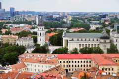 View over Vilnius Royalty Free Stock Image