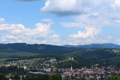 View over Voitsberg. In Styria, Austria Stock Images