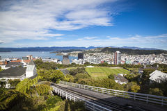 View over  Wellington Royalty Free Stock Image