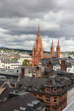 The view over Wiesbaden Stock Image