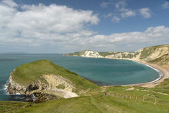 View over Worbarrow Bay, Dorset Stock Photography