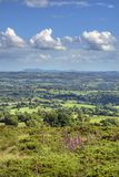 View over Worcestershire Royalty Free Stock Image