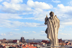 View over Wroclaw town, Poland, Europe Royalty Free Stock Images