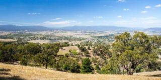 View over Yarra Glen Royalty Free Stock Photos