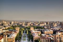 View over Yerevan Stock Photos