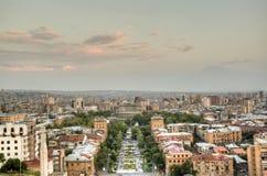 View over Yerevan Stock Images