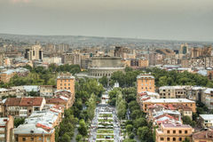 View over Yerevan Royalty Free Stock Photography