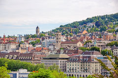 View over Zurich Stock Photo