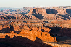 The View Overlooking Dead Horse Point and the Green River in Uta Royalty Free Stock Photography