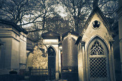 View of Père-Lachaise Royalty Free Stock Photography