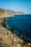 View of the Pacific Coast, in Malibu, California. Stock Photos