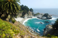 View on Pacific cost. California USA. Stock Image