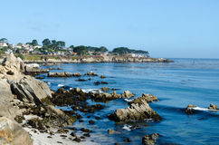 View on Pacific cost in Monterey. California USA. Stock Photography