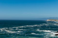 A view of the Pacific Ocean from Bodega Head Royalty Free Stock Photography