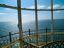 View of the Pacific Ocean from a Lighthouse Stock Image