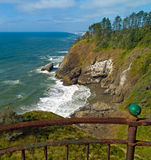 View of the Pacific Ocean from a Lighthouse Royalty Free Stock Photography