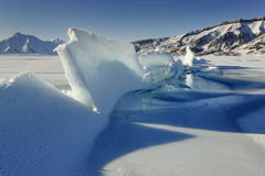 View on pack ice. Royalty Free Stock Photos
