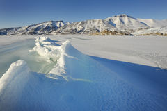 View on pack ice. Royalty Free Stock Photo