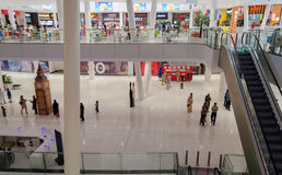 Shopping Mall Interiors. A view from Packages Shopping Mall Lahore, Punjab, Pakistan Royalty Free Stock Photos