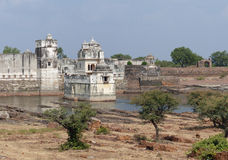 View of the Padmini Palace, Chittaurgarh, Rajasthan Royalty Free Stock Photo