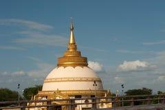 View of Pagoda in Sagaing near Ayeyarwady river . Stock Photography