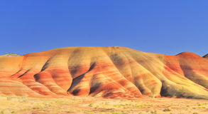 A View of the Painted Hills afternoon Royalty Free Stock Photography