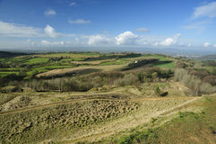 View from Painwick Beacon Stock Photos