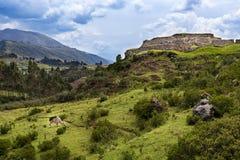 View of the Pakapukara. Site near Cusco, Peru Royalty Free Stock Photography