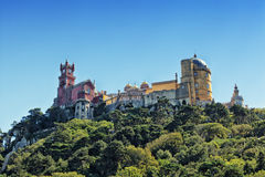 View of Palace da Pena. Sintra Stock Photos