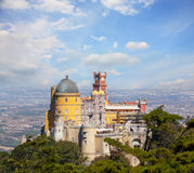 View of Palace da Pena Stock Image