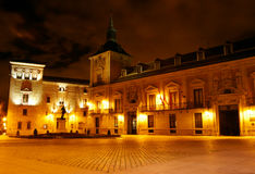View of  palace at night Stock Image