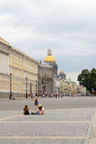View of Palace Square and Admiralty Avenue. Stock Photography