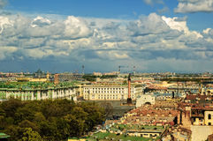 View on Palace square in Saint Petersburg Stock Photo