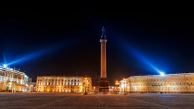 View of  Palace Square in St. Petersburg Stock Photography