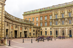 View of Palace Square in Stockholm Stock Photo