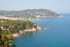 View on Palafrugell Royalty Free Stock Photography