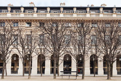 Palais Royal garden in Paris Stock Images