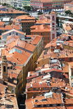 View upon Palais Rusca in Nice, France Stock Photos