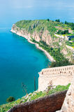 View from Palamidi castle in Nafplio Stock Photography
