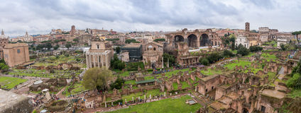 View from Palatine Hill Stock Photography